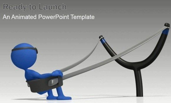 Animated Ready To Launch PowerPoint Template