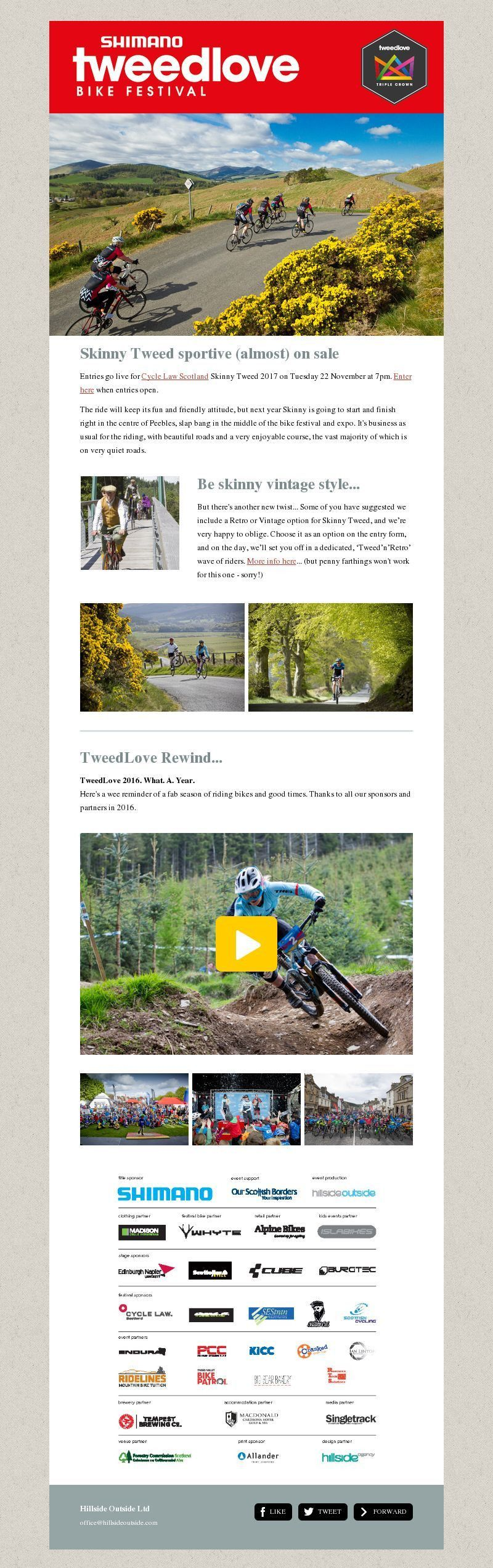Events Newsletter Design Gallery and Examples | MailerLite