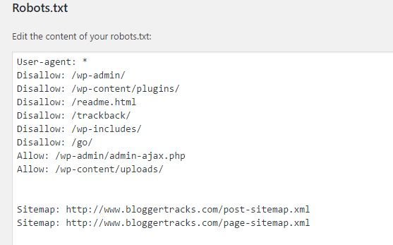How to Easily Edit Robots.txt file For SEO with YOAST SEO
