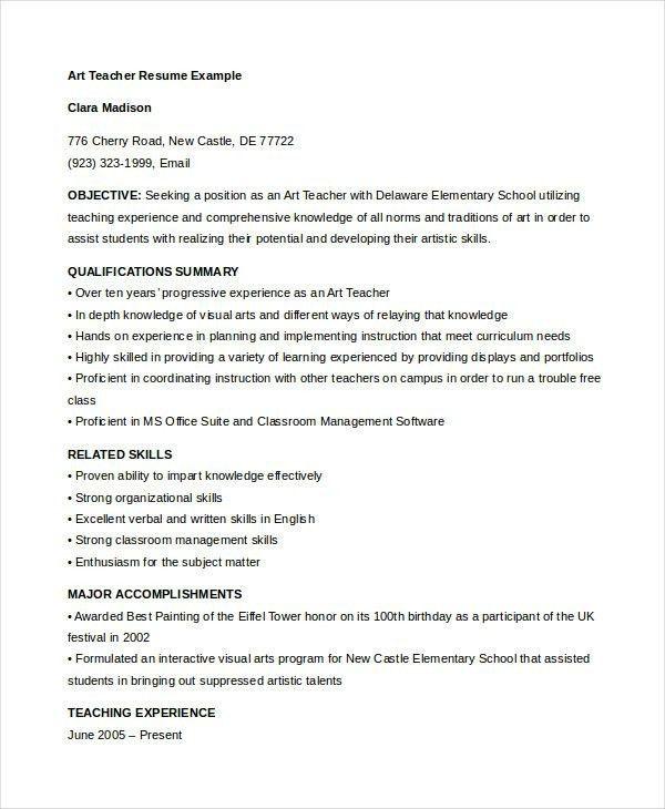 Daycare Resume Examples. Splendid Design Ideas Daycare Teacher ...
