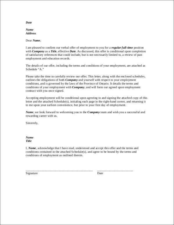 What You Need to Know about Employment Contracts—Free PDF Samples ...