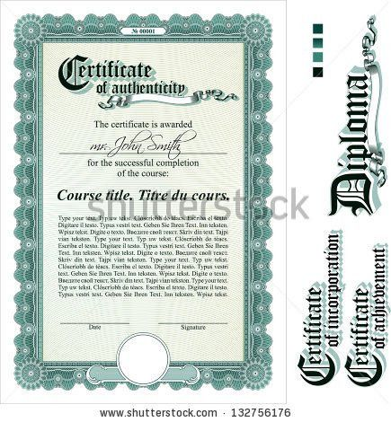 Stock Certificate Stock Images, Royalty-Free Images & Vectors ...
