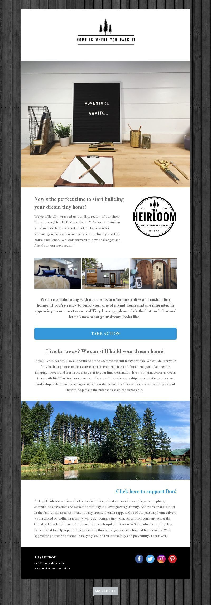 Travel Newsletter Design Gallery and Examples | MailerLite