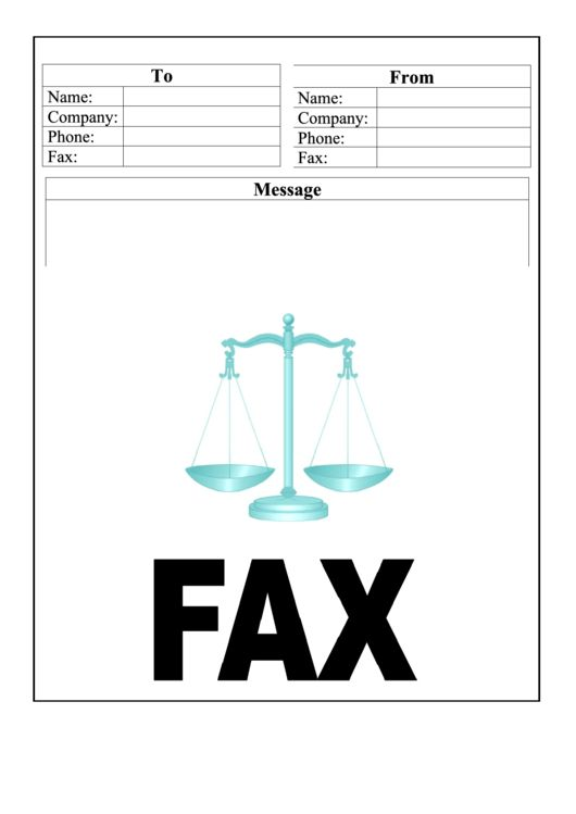 Top Professional Fax Cover Sheets free to download in PDF, Word ...