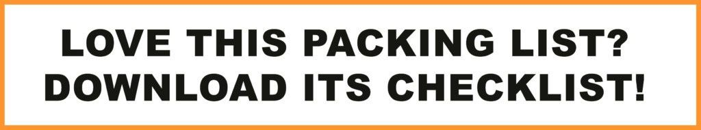 The Ultimate Packing List For Japan – Rakbo
