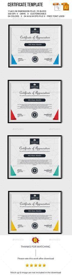 Certificate | Psd templates, Certificate design and Certificate ...