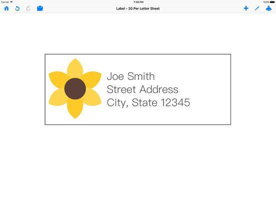 Mailing Label Designer - design and print labels on the App Store