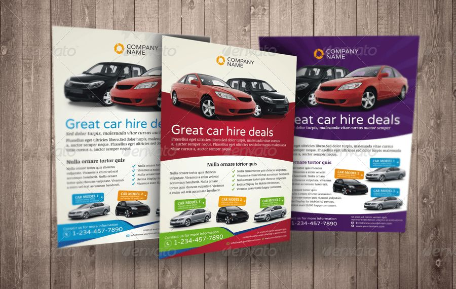 Automotive Car Sale Rental Flyer Ad Template Vol.5 by Jbn-Comilla ...