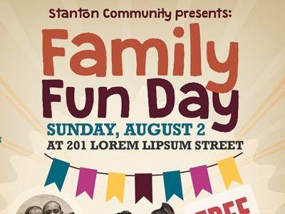 Family Fun Day Flyers Vol.02 by Kinzi Wij - Dribbble