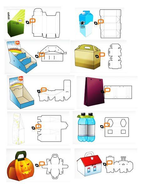 Free packaging templates | pool toys | Pinterest | Box templates ...