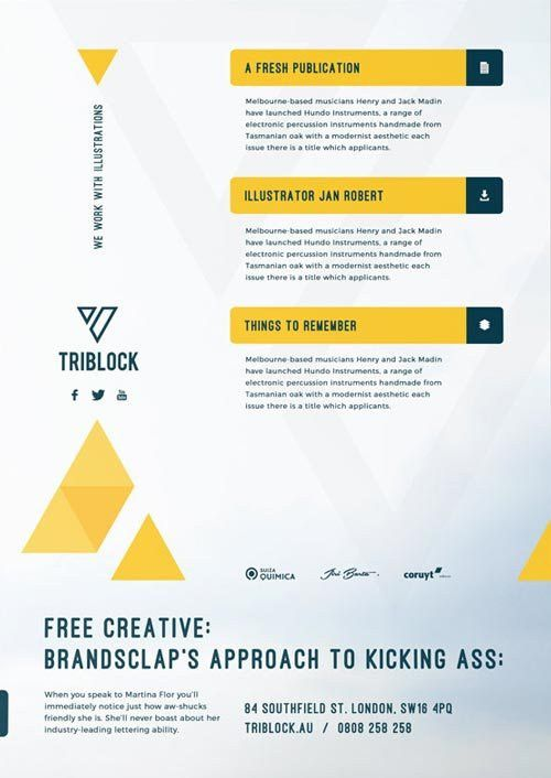 Download Modern Corporate Services Free Flyer Template for Photoshop