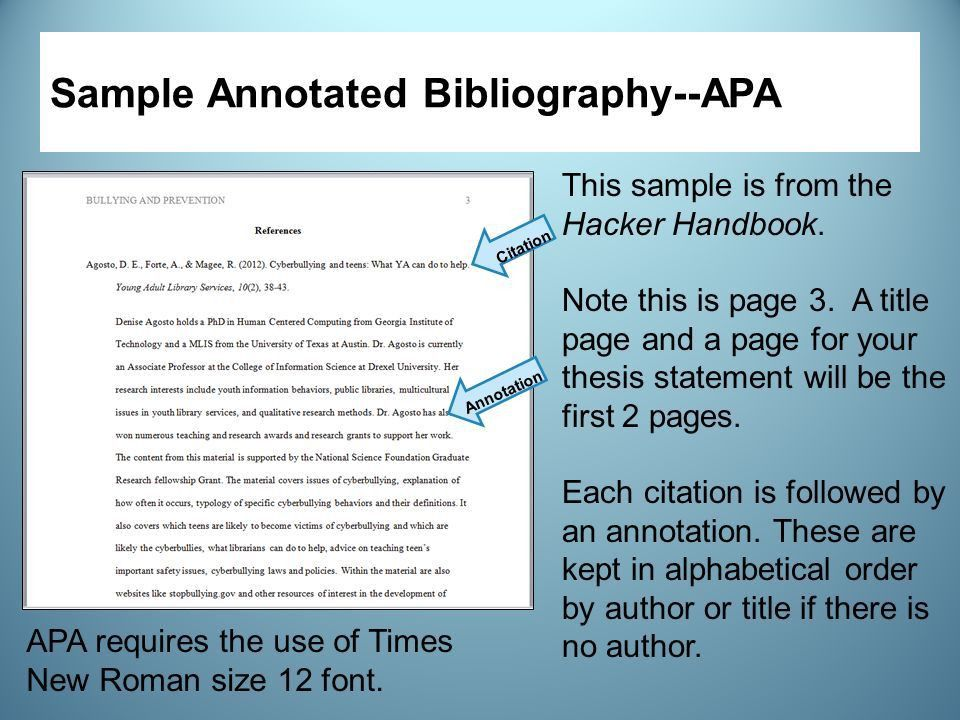 Custom annotated bibliography pepsiquincy.com