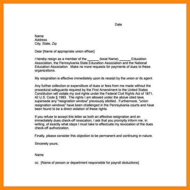 12+ simple resignation letter | nurse resumed