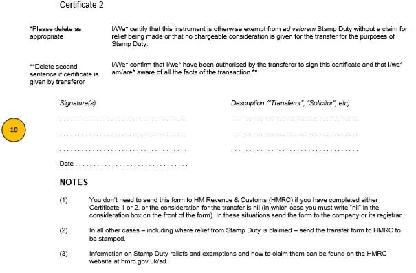 share certificate format in word