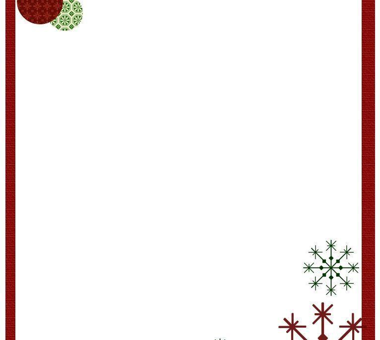 Christmas Menu Word Template - Contegri.com