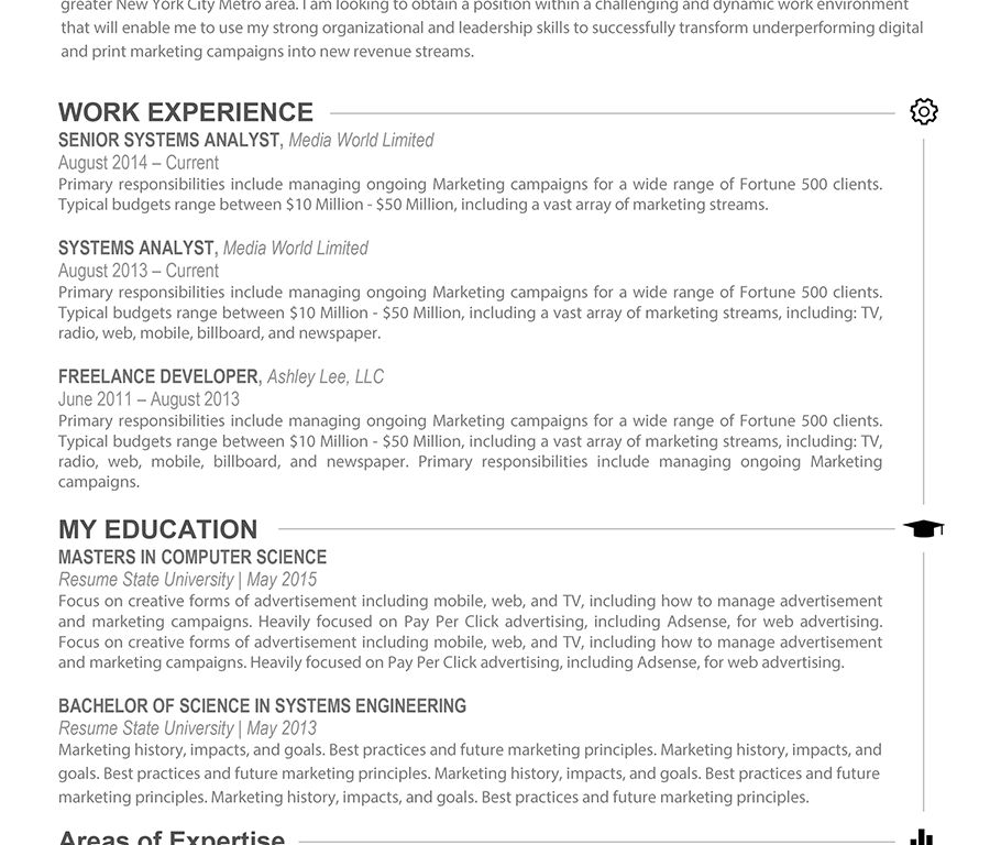 Exclusive Ideas Word Resume Template Mac 2 Modern Resume Template ...