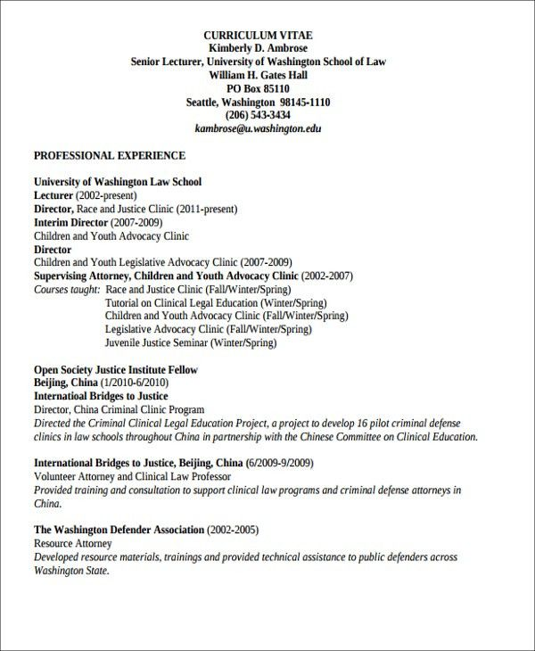 Job Resume Examples -9+ Free Word, PDF Format Download | Free ...