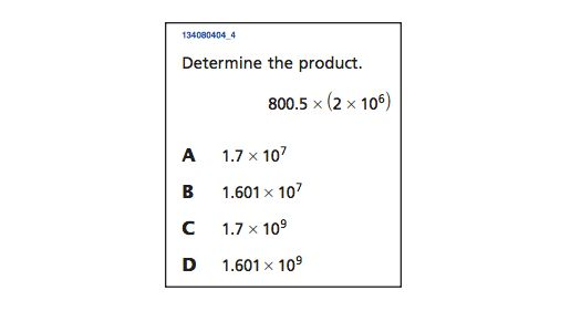 Can you answer these five 8th grade math questions correctly ...