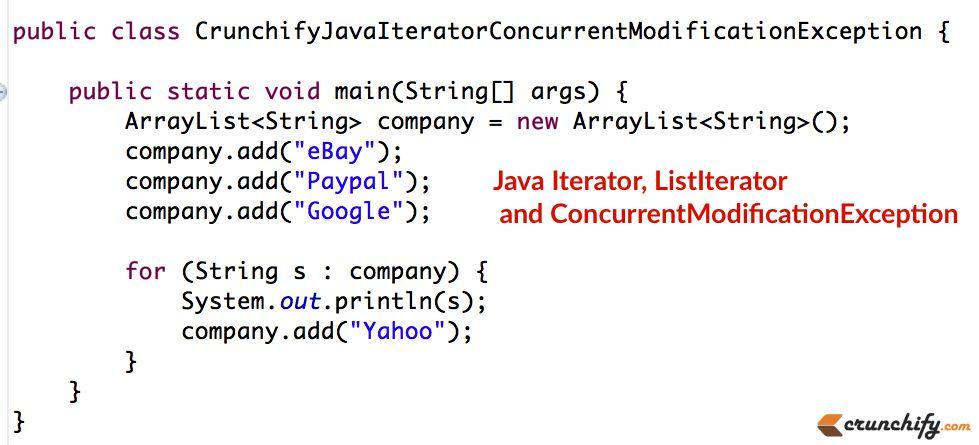 Java Iterator, ListIterator fundamentals and ...