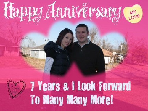 Love Letter To My Husband: Happy 7th Anniversary My Love ...