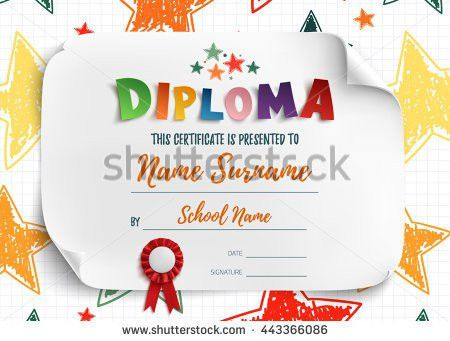 Diploma Certificate Stock Images, Royalty-Free Images & Vectors ...