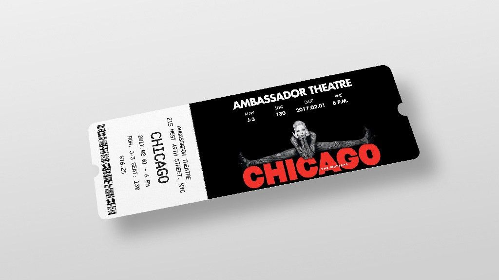 Ticket Mockup Set | MockupWorld