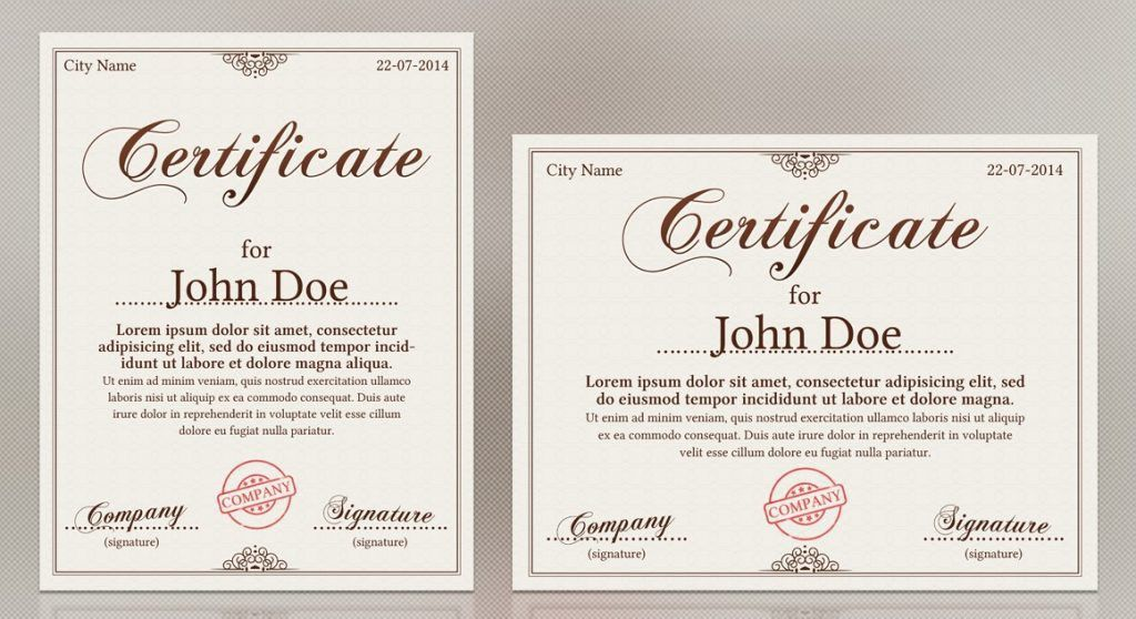 10 Award Certificate Template Examples | Templates Assistant