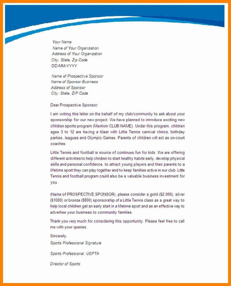4+ sponsor letter templates | it cover letter