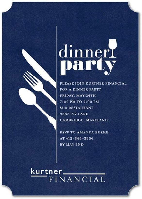 19+ Dinner Invitation Templates – Free Sample, Example, Format ...