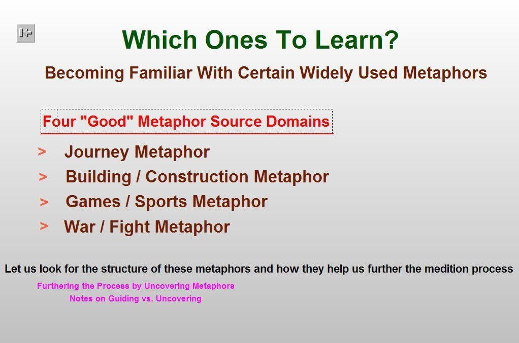 Guiding Metaphors