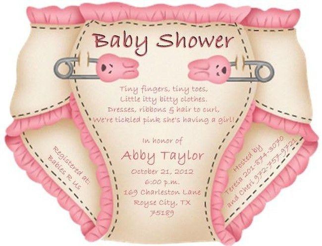 Exciting tips on organizing baby shower and making diaper baby ...
