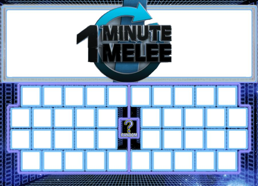 One Minute Melee Blank Character Select Template by DoctorMooDB on ...