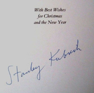 "Dateline Bangkok: ""With Best Wishes...Stanley Kubrick"""