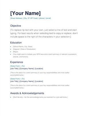 Resume Template Google 18 Google Drive Resume Template Templates ...
