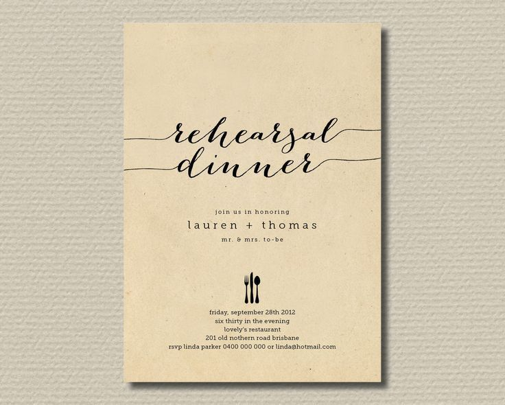 Best 25+ Wedding rehearsal invitations ideas on Pinterest | Dinner ...