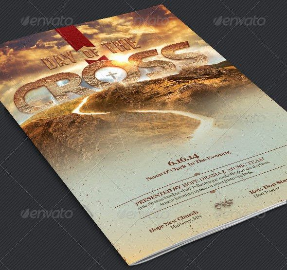 34 Easter Flyer Templates for Churches | GraphicMule