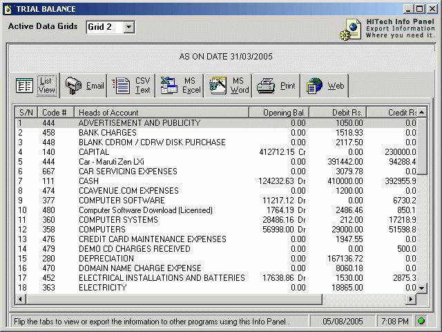 Accounting software without invoicing, accounting tutorial