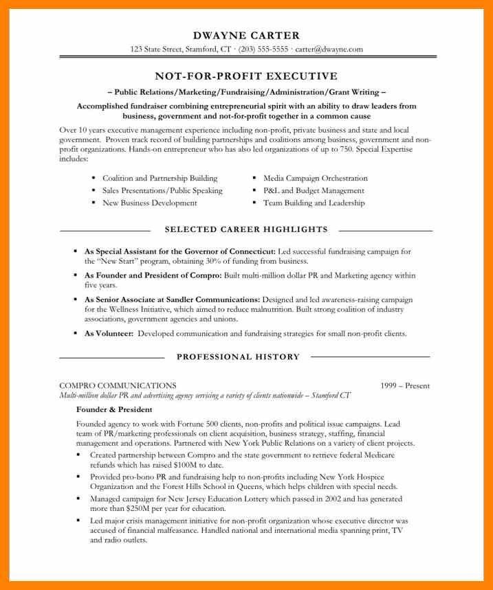 3+ professional highlights resume examples | format of notice