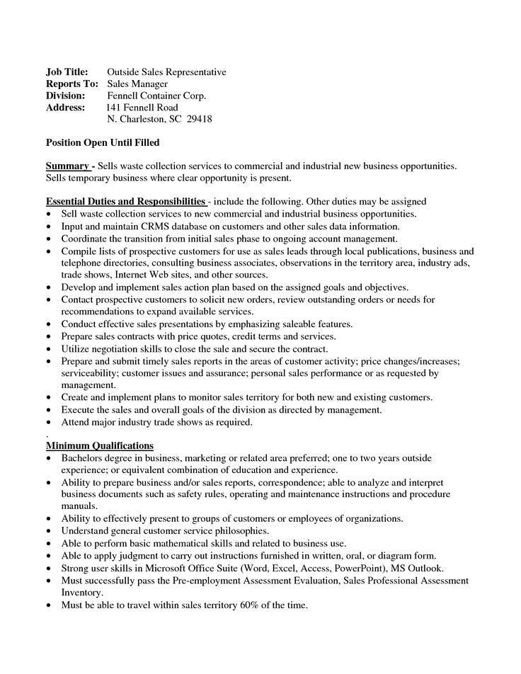 Sales Resumes. Click Here To Download This Recent Graduate Resume ...