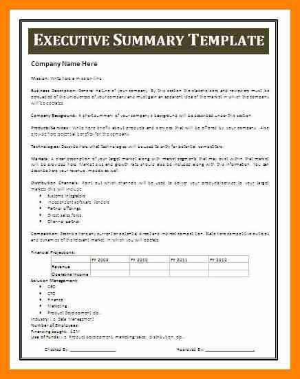 100+ Summary Report Template | Summary Report Template Utility ...