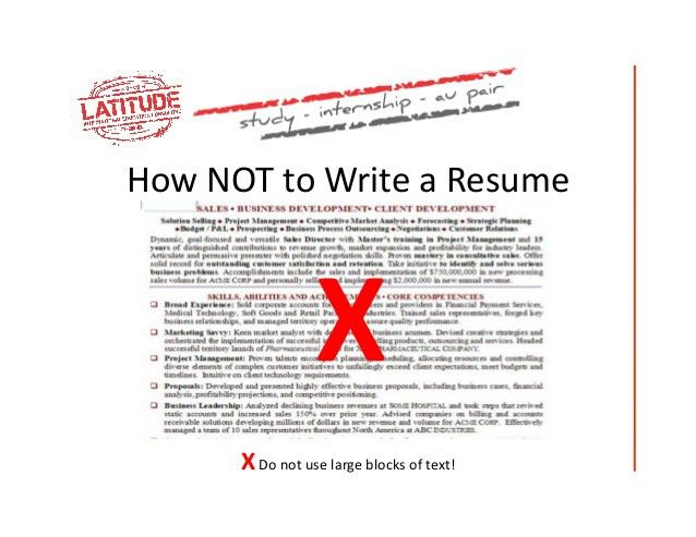 Download How To Write A Great Resume | haadyaooverbayresort.com
