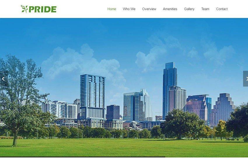 Pride Real Estate HTML5 Responsive Website Template - WebThemez