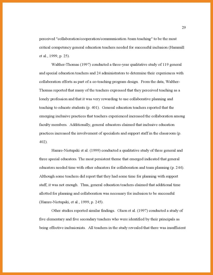 literature review examples | art resume examples