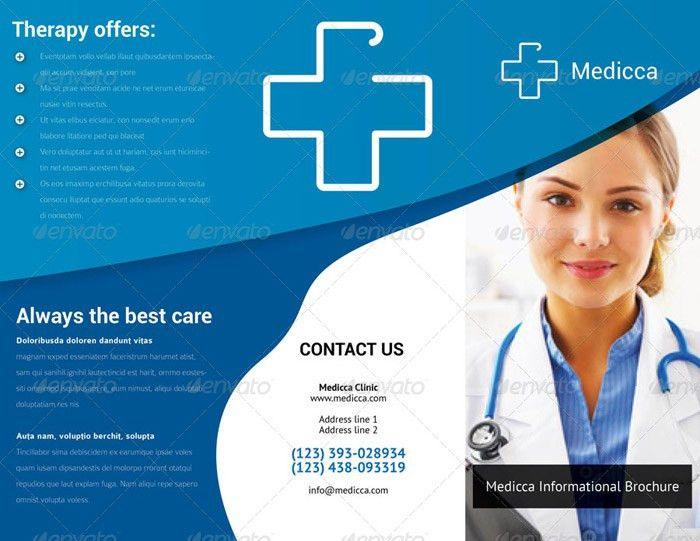 Health Brochure Template. Health Fair – Flyer Psd Template + ...