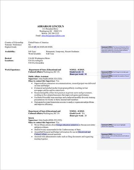 Chic And Creative Government Resume 16 7 Amazing Government ...
