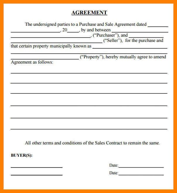 Stunning Auto Purchase Agreement Pictures   Best Resume Examples .  Auto Purchase Agreement Template