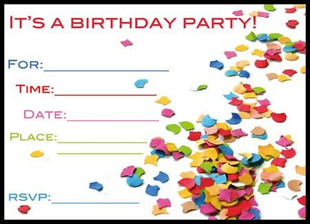 Birthday Invitations Free | orionjurinform.com