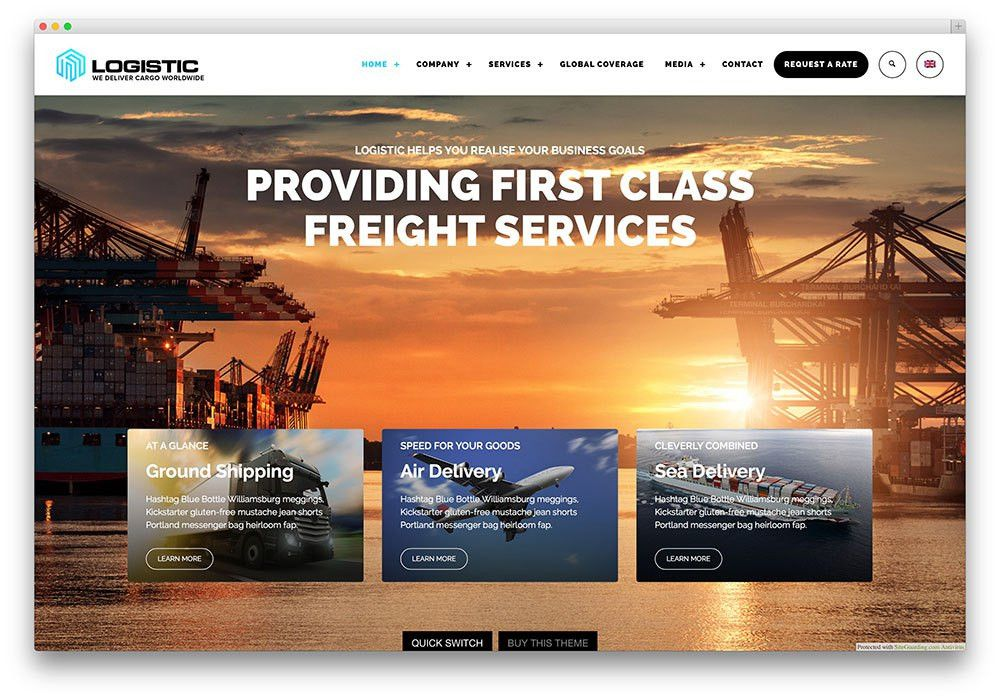 30+ Best WordPress Corporate Business Themes of 2016 For Startups ...