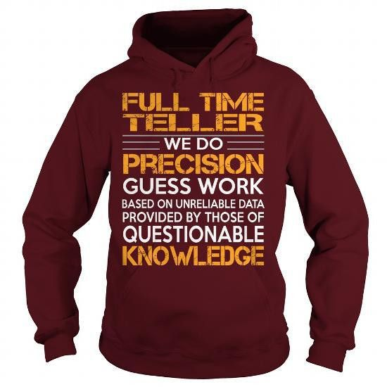 Awesome Tee Awesome Tee For Full Time Teller Shirts & Tees #tee ...
