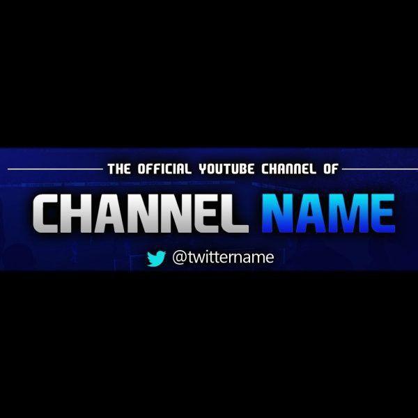 Youtube Banner Template Psd | Sadamatsu-Hp for Banner Template ...
